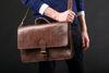 Imagen de El bolso Casablanca en marrón oscuro