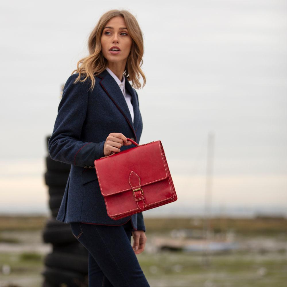 the-casablanca-mini-satchel-in-red