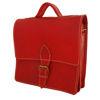 صورة حقيبة الدار البيضاء الصغيرة باللون الأحمر