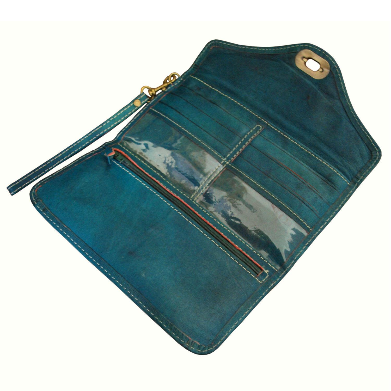 leather-tri-fold-purse-teal