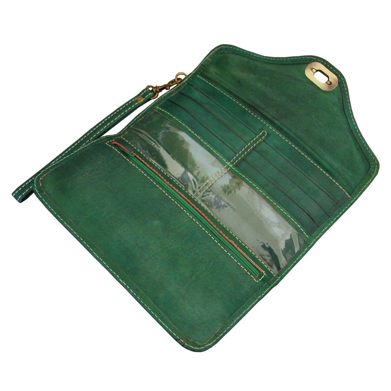 leather-tri-fold-purse-green