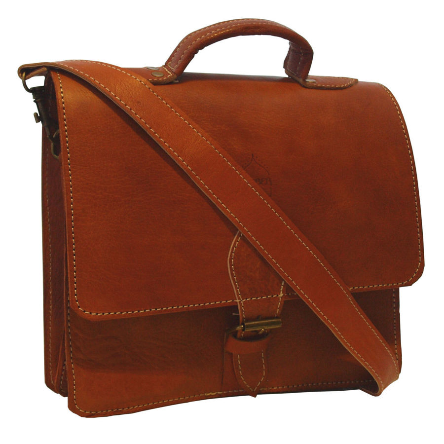 Picture of The Casablanca Mini Satchel in Light Brown